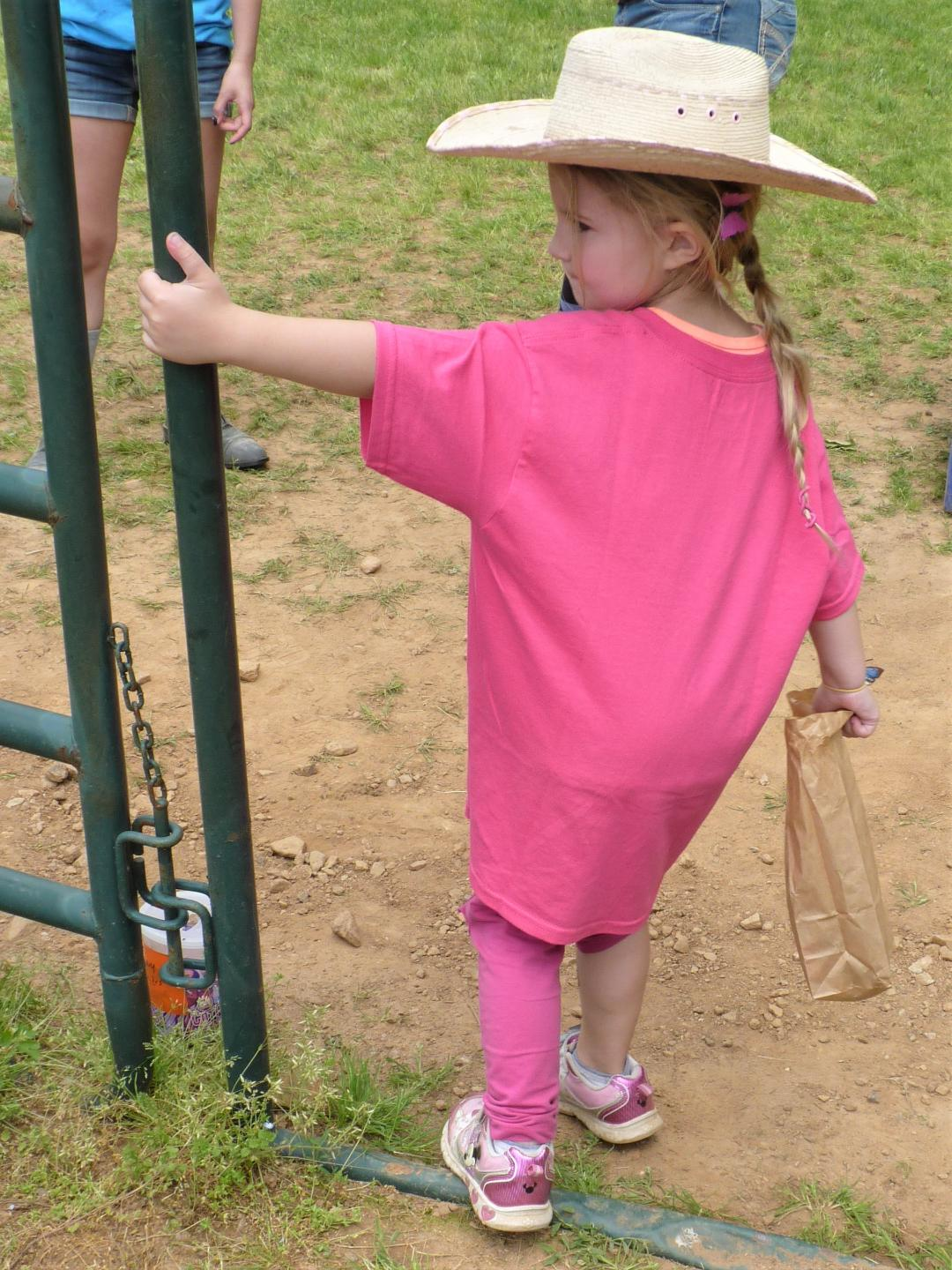Kids cowgirl