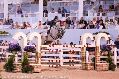 Laura Chapot on Thornhill Kate at Evon Fall Classic