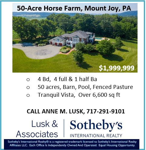 50 acre farm mount joy pa-Sotheby's RE