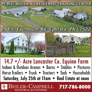 Beiler Campbell Auction-July 25