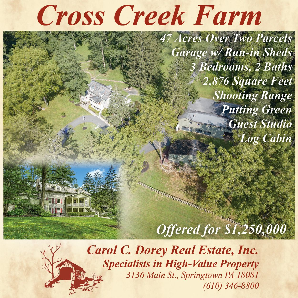 Cross Creek Farm-Dorey RE