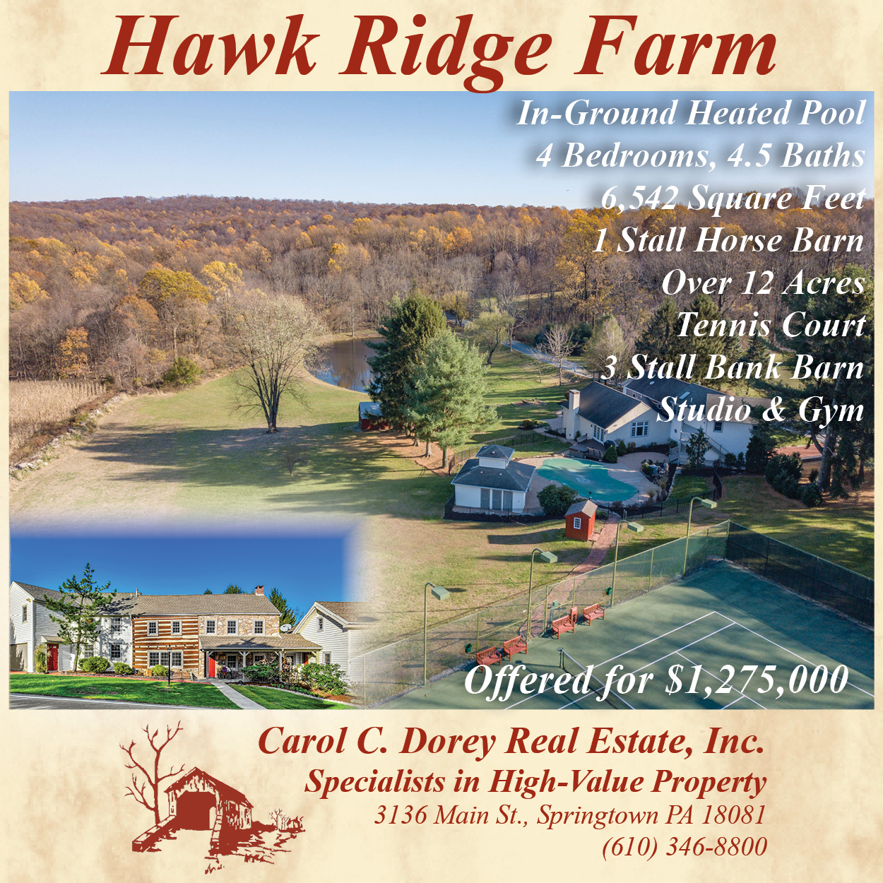 Hawk Ridge Farm-Dorey RE