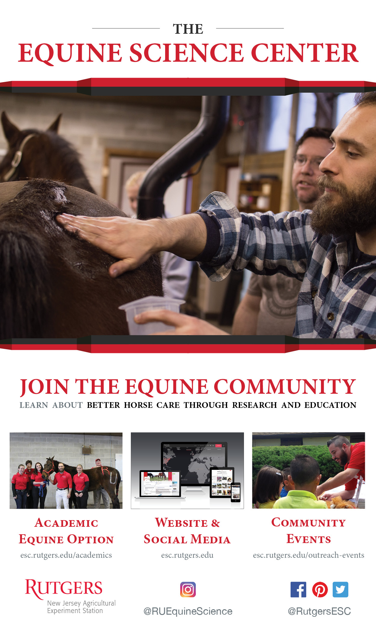 The Equine Science Center-Rutgers