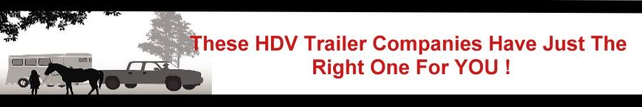 Trailers & Equine Transportation banner