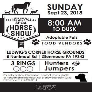 BVSPCA horse show