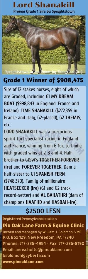Lord Shanakill-PinOak Farm