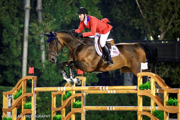McLain Ward on HH Azur