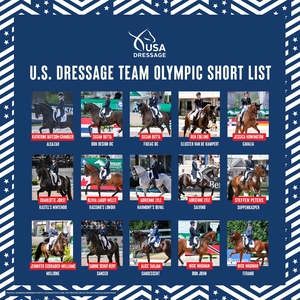 dressage short list