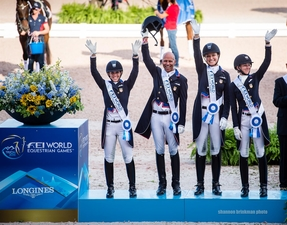 USA Dressage team weg18brinkman