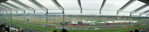 Flemington race course 180 degree
