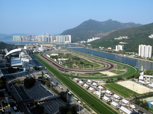 Sha Tin Racecourse Overview 2009