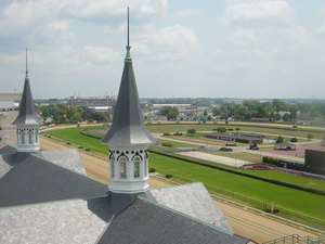 Churchill Downs from roof